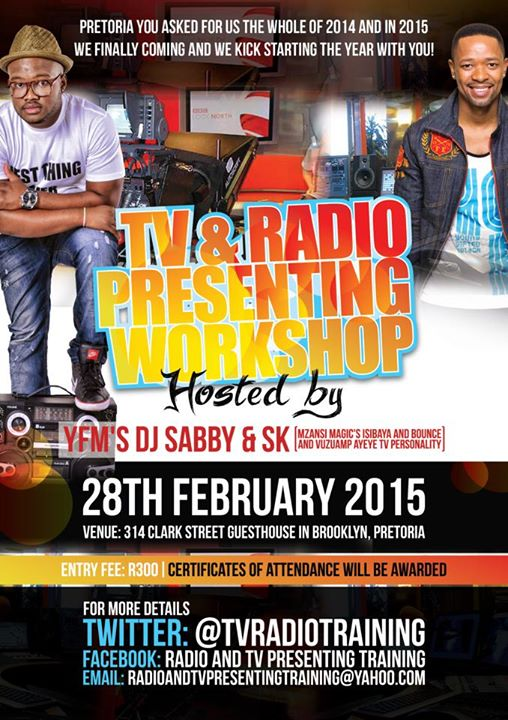 TV and Radio presenting Workshop